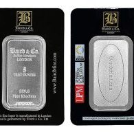 5 oz Rhodium Baird & Co. Bar